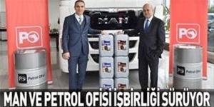 MAN ile Petrol Ofisi işbirliği sürüyor